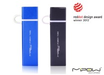 MiPow Power Tube 4000 mobiler Zusatzakku mit Micro-USB-Adapter für iPhone & iPod